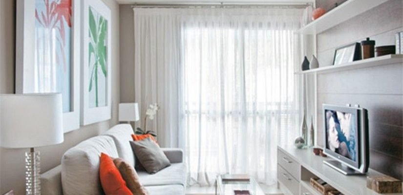 cortina para trilho ou cortina para varão